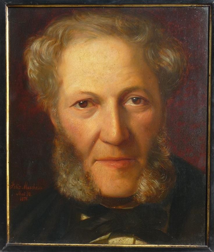 Moscheles by Felix 1871